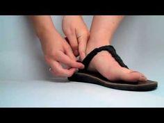 Sseko Baylee's Braided Thong Sandal Tie
