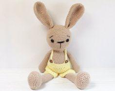 PATTERN : Bunny-Rabbit Amigurumi bunny pattern by Anatillea