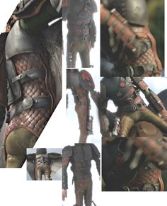 stratoc:  sallykie:  HTTYD2 trailer, Hiccup's scale armor - reference  dat ass  Crotch + Butt seams DidHiccup make those pants or…