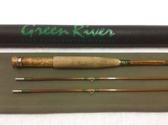 Green River Bamboo Fly Rod 7' 4wt. 2/2 Piece   On The Fly Sportsman's Consignments, LLC