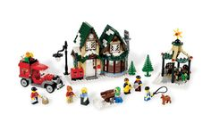 LEGO winter village post office, $70 - I'm thinking this is a christmas village our whole family would be into. I love it! I could see it being a family activity to build the buildings each year. :)