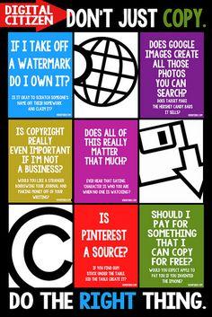 Digital Citizenship Discussion Starter by Krissy.Venosdale, via Flickr