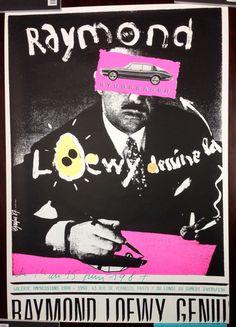 """Raymond Loewy dessine la Studebaker"" Poster by Grapus Graphic Design Posters, Graphic Design Illustration, Graphic Art, Graphic Designers, Poster Designs, Pierre Bernard, Lund, Paris, Raymond Loewy"