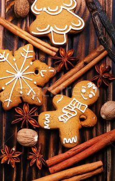 ginger cookies stock photo (c) tycoon (#8484103) | Stockfresh