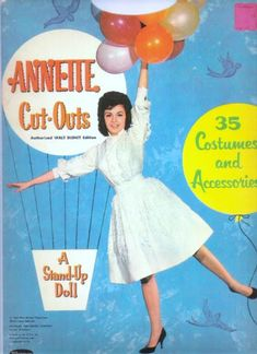 Annette Funicllo Paper Dolls from 1962. So sweet.