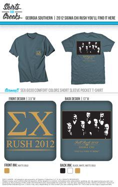 Sigma Chi | Rush | Fall Recruitment | Tshirt Ideas | Designs | You'll Find It Here | shirtsforgreeks.com