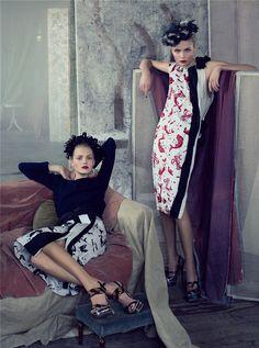 Vogue US - by Steven Meisel