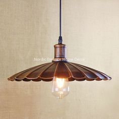 39.90$  Watch here - http://aipl5.worlditems.win/all/product.php?id=32700480195 - Creative Nordic American retro rural wind single head LOFT bar cafe hotel restaurant rusty ferruginous color pendant lamp light