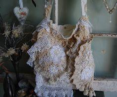 Charm Abandoned Shabby Boho Chic Vintage by LaPetitePrairie