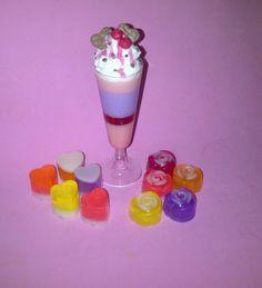 Merengada, helado en jabon!