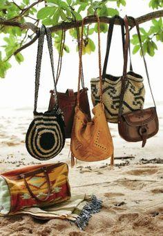 Bags. Boho Style.