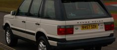 Range Rover P38 White – £3395