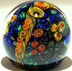 Art Glass paperweight from Kela's...a glass gallery on Kauaii