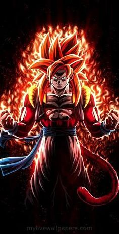 | Save & Follow | Gogeta • Super Saiyan 4 • Live Wallpaper • Dragon Ball GT