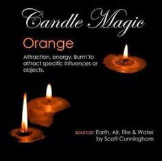 Crone Cronicles: Candle Magick ~Colors~