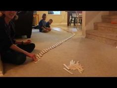 Popsicle/Craft Stick Chain Reaction