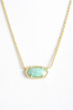 Kendra Scott Elisa Amazonite Integrated Necklace