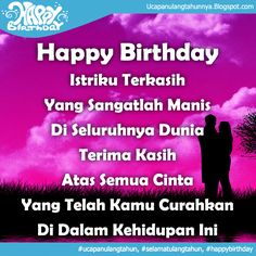 21 Best Ultah Images Happy B Day Doa Happy Birth