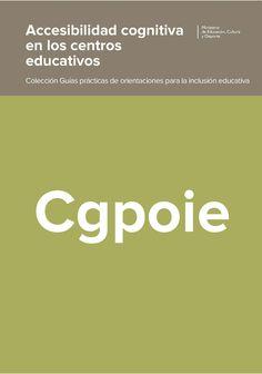 Accesibilidad cognitiva en los centros educativos (SID)