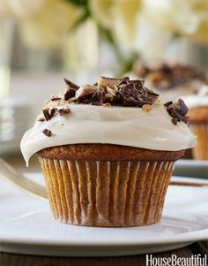Ina Garten's Pumpkin Cupcakes with Maple Frosting