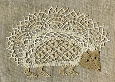 Bobbin lace hedgehog pattern free to download...several other patterns on this page too.