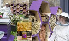 Hotel installs own bee-joux guesthouse just for bumbles  Use bee safe plants and materials! Only chemical free.  www.beehabitat.com  http://www.pinterest.com/socialwebdesign/bees/