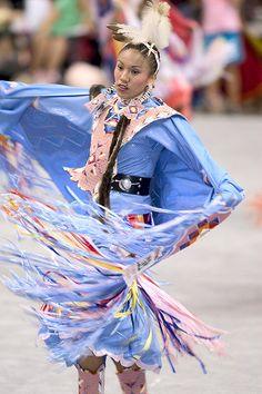 Beautiful Fancy Shawl Dancer Tanksi Clairmont