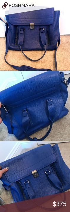 Authentic Phillip Lim cobalt blue Pashli bag tote Authentic Phillip Lim cobalt blue Pashli bag tote with i metal hardware. This is the largest size. 3.1 Phillip Lim Bags Totes