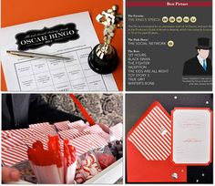 DIY Oscar Night: Free Printables