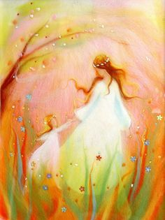 summer waldorf painting - Google Search
