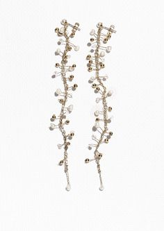 & Other Stories   Pearl Branch Earrings