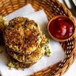 Sweet Potato, Quinoa, Spinach and Red Lentil Burger - NYTimes.com