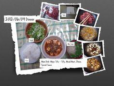 For Dinner on 09/Jun/2012