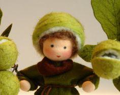Chestnutboy - figlio dei fiori - Waldorf ispirato - tabella di natura