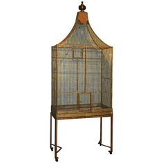 1STDIBS.COM - 145 Antiques - French Early 20th C Bird Cage ❤ liked on Polyvore