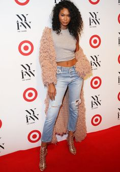 Chanel Iman at Target and IMG kick off for New York Fashion Week in New York on September 6, 2016
