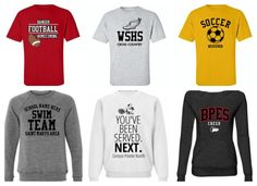 The perfect custom spirit wear that everyone need in their closet. Purchase yours today! www.spiritshop.com