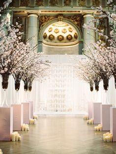 Cherry Blossom Wedding by Abby Jiu                                                                                                                                                                                 More
