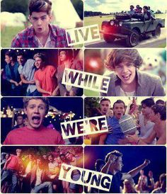 one direction ~live while were young~