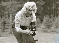 anthony luke's not-just-another-photoblog Blog: Unpublished Photos of Marilyn Monroe in Banff, Canada