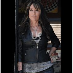 Sons of Anarchy Katey Sagal (Gemma Teller) Leather Jacket