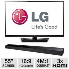 """Tigerdirect #LG 42LM3400 42"""" Class  LED # 3D HDTV - 1080p, 1920 x 1080, 16:9, 60Hz, 3000000:1, HDMI, 4x 3D Glasses Included, Energy Star $499.99 Wireless Surround Sound, 3d Tvs, Electronic Deals, Best Computer, Led, 3d Glasses, Channel, Energy Star, Free Shipping"""