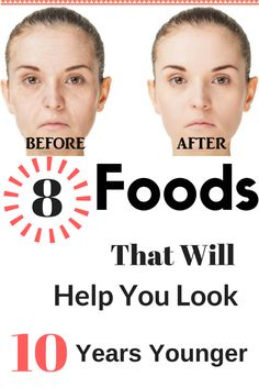 8 Foods That Will Help You Look 10 Years Younger