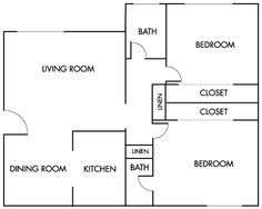 1000 images about basement apartment on pinterest Two bedroom house plans with basement