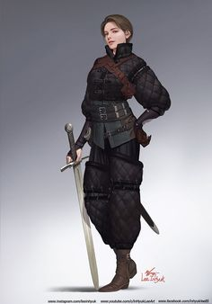 Fantasy Fighter, Female Fighter, Fantasy Armor, Medieval Fantasy, Female Character Design, Character Design Inspiration, Character Concept, Character Art, Dnd Characters