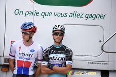 Petr Vakoč & Julian Alaphilippe / Tour du Poitou-Charentes 2015
