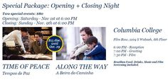 Item #M5-20: Package MOSTRA V OPENING NIGHT + CLOSING NIGHT FOR TWO At Columbia College, downtown Chicago. Includes Brazilian fare, entertainment, and drinks. A super deal! (Value: $190.)  STARTING BID: $50. **Please bid in increments of $5.**  Donated by: MOSTRA V  http://www.brazilianfilmsinchicago.com/