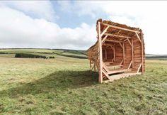 Landscope (Isle of Wight, UK) ← Projects ← Studio Weave Studio Weave, Sound Installation, Unique Buildings, Isle Of Wight, Urban Landscape, Public Art, Landscape Architecture, Weaving, Nature