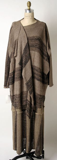 """1976 - Miyake. Linen/rayon. Could go down a catwalk today and no-one would say anything but """"Oooo!"""""""