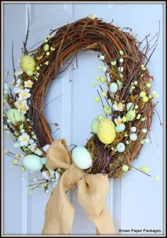 Pretty spring /Easter wreath
